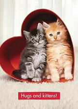 Avanti One I Love Valentine's Day Greeting Card Cute Cats Cards