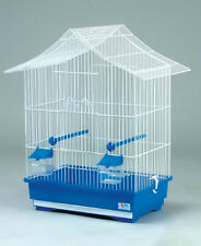 Large Canaries Bird Metal Cage Perfect Budgies Finches Parrot Feeder Seat Canary