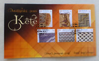 2016 NEW ZEALAND MAORI NEW YEAR SET OF 6 STAMPS FDC FIRST DAY COVER