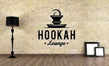Wall Vinyl Sticker Decal Focus Room Decor Interior Hookah Bar Bong Kalian VY481
