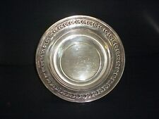 Antique Reed & Barton Silver plate Fruit Bowl #1204 Roses