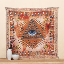 Egyptian Style Eyes Ancient Colored Printed Decor Mandala Tapestry M7D