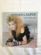 CYNDI LAUPER - Time after time / I'll kiss you - 45 t