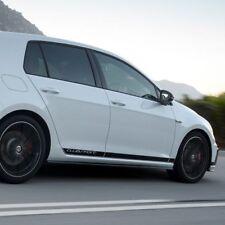 Volkswagen Golf Mk7 5door Clubsport side stripe decal graphics