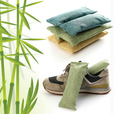 2Pcs Bamboo Charcoal Bag Smelly Removing Activated Carbon Closets Shoe Deodor bc