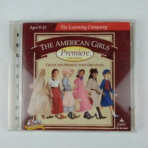 The American Girl Premiere 2nd Edition CD Computer Game 2 CDs Create Plays 1998
