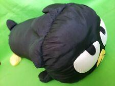 "RARE Sanrio Badtz Maru 1997 Parachute Soft Stuffed Animal Vintage 21"""