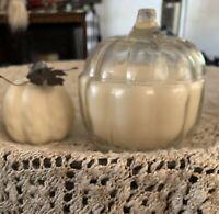 Goose Creek Vanilla Pumpkin Waffle 3-Wick Candle in Pumpkin Jar 22 oz.