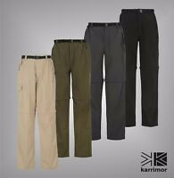 Mens Karrimor Walking Trousers Aspen Zip Off Outdoor Pants Sizes S-XXXXL