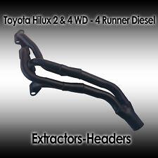 Toyota HiLux 2WD, 4WD, 4Runner, 2.4L 2.8L 3.0L 4cyl Diesel Headers/Extractors