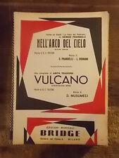 """SPARTITO PRANDELLI """"NELL'ARCO DEL CIELO"""" + TRAVERSI """"VULCANO"""""""