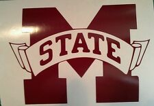 New Mississippi State CORNHOLE DECALS - 2 CORNHOLE DECALS Vinyl Vehicle Decals