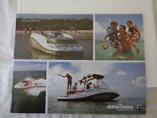 2008 SEA DOO  PRODUCT LINE BOAT BROCHURE  CATALOG SWPORT BOATS TO WAVE RUNNERS