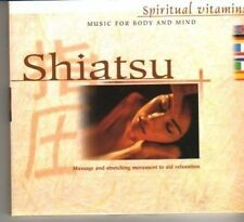 (DG851) Music for Body & Mind, Shiatsu, Spiritual Vitamins - 2001 CD