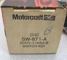 Motorcraft DOVY-11654-B Ford Lincoln Headlight Switch SW-871-A