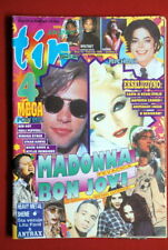 Madonna Bon Jovi On Cover 1996 Very Rare Exyu Magazine