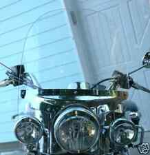 """TRIUMPH ROCKET III TOURING  2008-UP 24"""" x 24"""" CLEAR REPLACEMENT WINDSHIELD"""