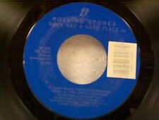 """ROLLING STONES """"ROCK AND A HARD PLACE / COOK COOK BLUES"""" 45"""