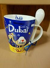 Kooky Kamels Lost In Dubai I Heart Dubai Camel Coffee Mug Cup Spoon Hot Chocolat