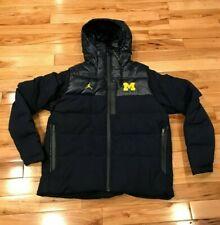 Nike Michigan Wolverines Down Fill Hooded Sideline Jacket Men's MEDIUM ($260)