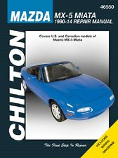 1990-2014 Mazda MX-5 Miata Chilton Repair Service Shop Workshop Manual Book 2415