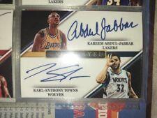 Card Lab Studios Undismayed Autograph #3 Abdul-Jabbar/Towns/Westbrook/Kidd