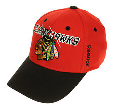 Reebok NHL Youth Chicago Blackhawks Season Flex Hat, Red, OSFM