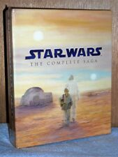 Star Wars: The Complete Saga (Blu-ray Disc, 2011, 9-Disc Set)  6-movies scifi