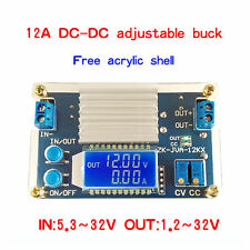 12A Adjustable LCD Buck Power Supply Module Onstant Voltage Constant Current
