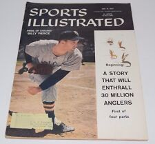 Vintage SPORTS ILLUSTRATED May 13 1957 Billy Pierce / Anglers Cover 5/13/57