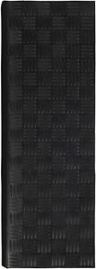 "Stair Treads Indoor Outdoor Mat Non-Slip Bullnose Design 5 Pack, 10"" X 30"" Black"