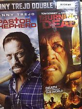 Danny Trejo Double Feature: Pastor Shepherd/The Burning Dead (DVD, WS) RARE NEW