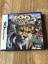 Zoo Tycoon 2 DS (Nintendo DS, 2008) Case & Manual Only No Game VC2