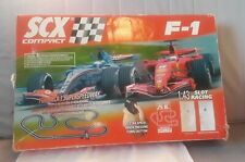 SCX Compact F1 Formula 1 Slot Car Racing Track Mattel Hot Wheels Ferrari Sport