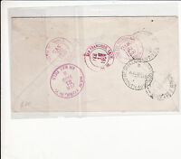 UNITED STATES : REGISTERED AIRMAIL COVER TO SOUTH AUSTRALIA 1950   H