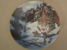 TRAIL OF THE TALISMANS collector plate JULIE KRAMER COLE Camouflage INDIAN SIOUX
