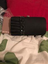 Menbur Black Clutch Purse