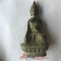Chinese Tibet Buddha Bronze statue old copper statue