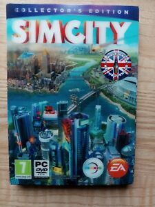 SIMCITY Collector's Edition Steelbook - Holographic Case - PC Game