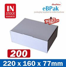 200x Mailing Box A5 220x160x77mm  Diecut BX1 B1 SIZE Cardboard Shipping Carton