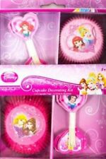 NEW DISNEY PRINCESS SPARKLE THEME CUPCAKE DECORATING KIT