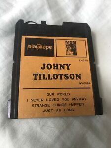 Vintage 1960s Playtape ~ Johnny Tillotson Our World + 3 Songs ~ #0064