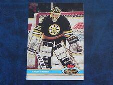 1991-92 91/92 Topps Stadium Club #211 Andy Moog Boston Bruins