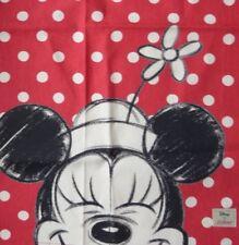 Cath Kidston X Disney Mini Mouse Polka Dot RED Tea Towel