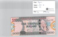 Geldschein Guyana - 1000 Dollar - ND Diaphragma Treiber