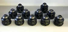 Arri Zeiss LDS Ultra Primes T1.9 Lens Set 11 Prime Lenses Arriflex (16-135mm)
