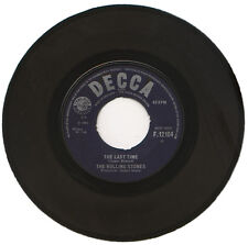 """ROLLING STONES  """"THE LAST TIME c/w PLAY WITH FIRE""""   MONSTER 60's SOUND  LISTEN!"""