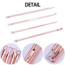 4x Tool Kit Acne Extractor Remover Blackhead Pimple Needles Blemish Treatments