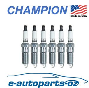 6 x Champion Platinum Spark Plugs Holden Commodore 3.0L 3.6L V6 VZ VE VF Captiva