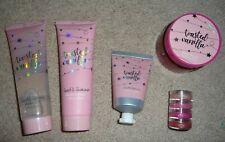Lot 7 Twisted Vanilla Body Lotion Shower Gel Scrub Hand Cream Lip Gloss Set NEW